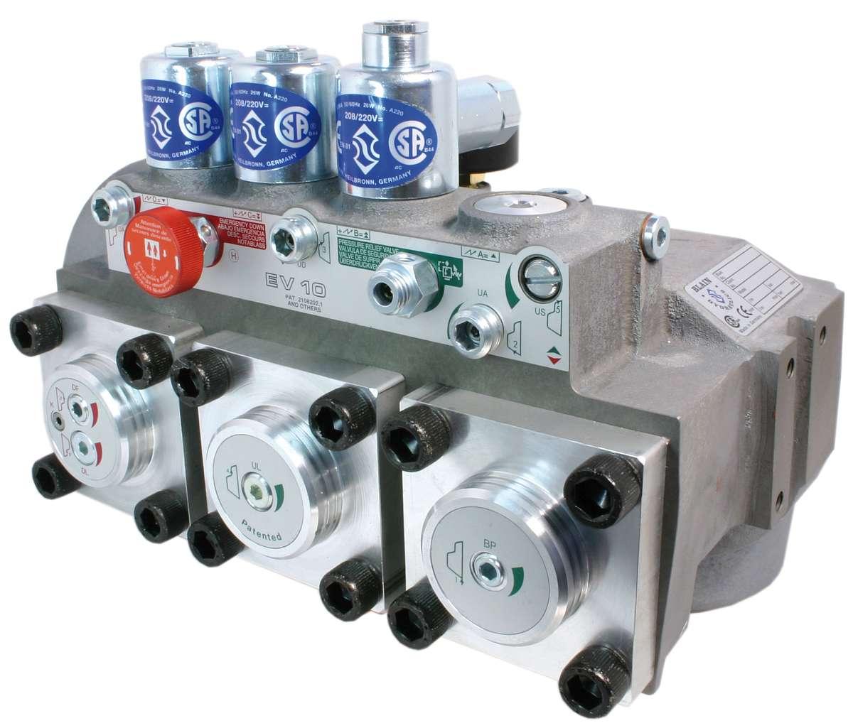 hydraulikventil für aufzüge