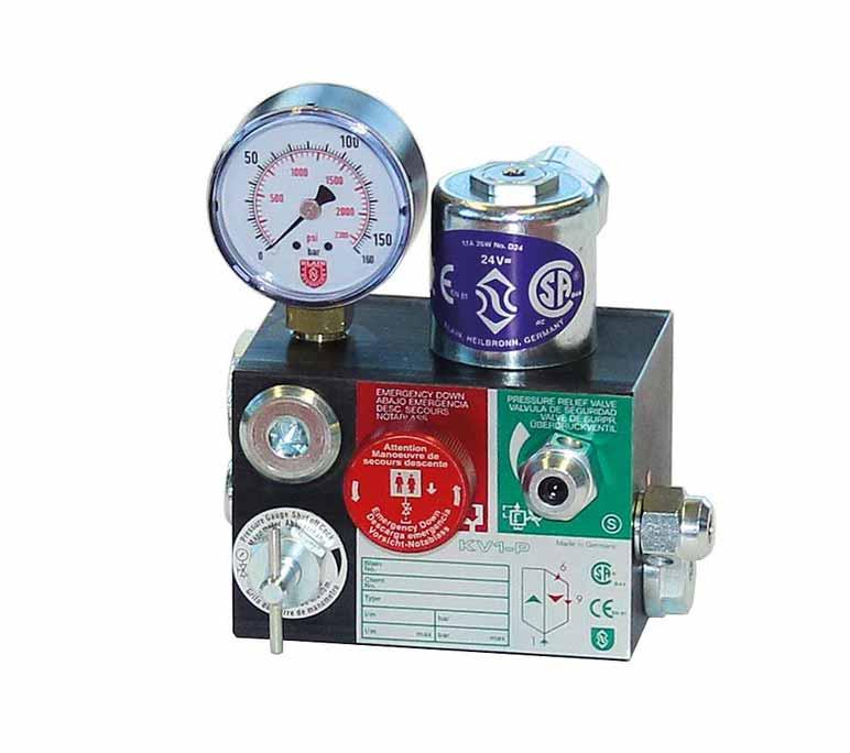 lock pressure valve